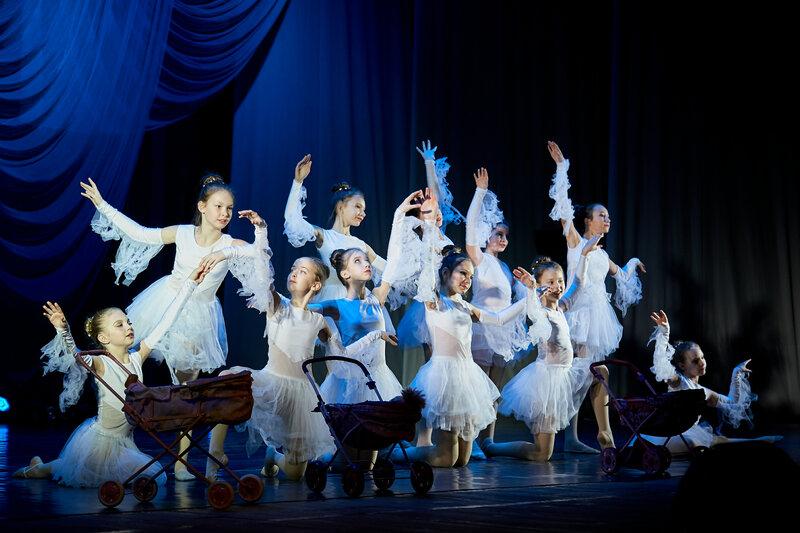 Танец «Аисты». Конкурс ДК Тольятти. Декабрь, 2018