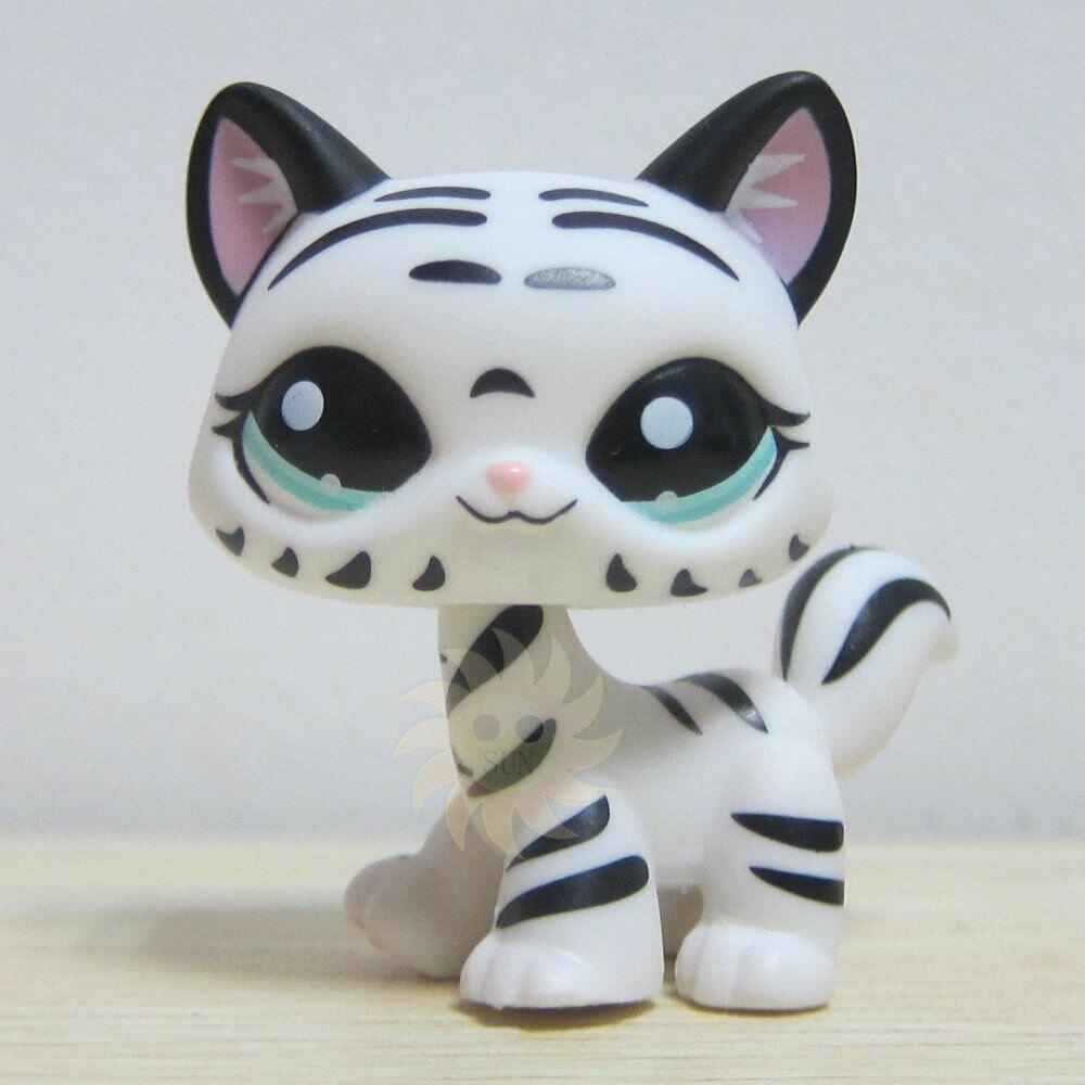 Hasbro Littlest Pet Shop Collection Lps Figure Loose White Black