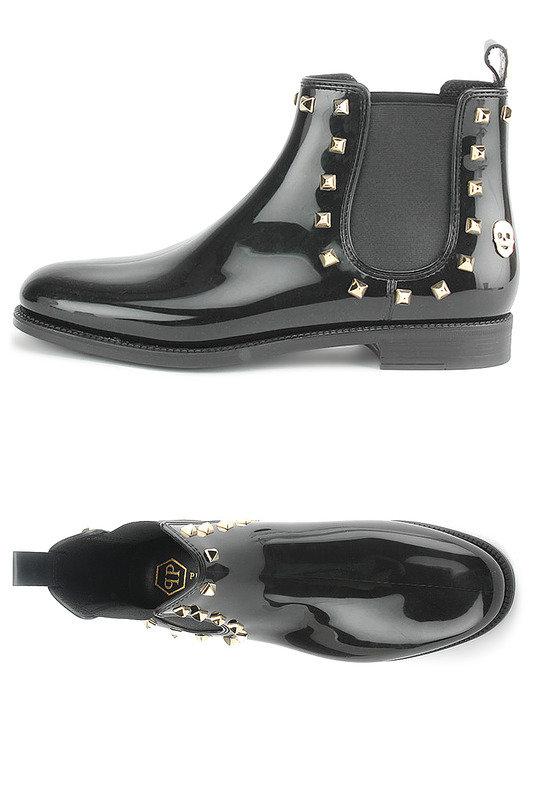 bb0b21585b33 Ботинки Philipp Plein женские. - Женские зимние кожаные ботинки Украина  Купить со скидкой -50