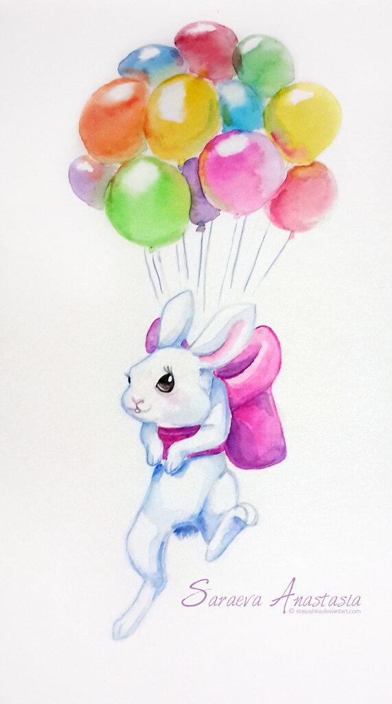 Спасибо вам, картинки с шариками воздушными и цветами рисованные