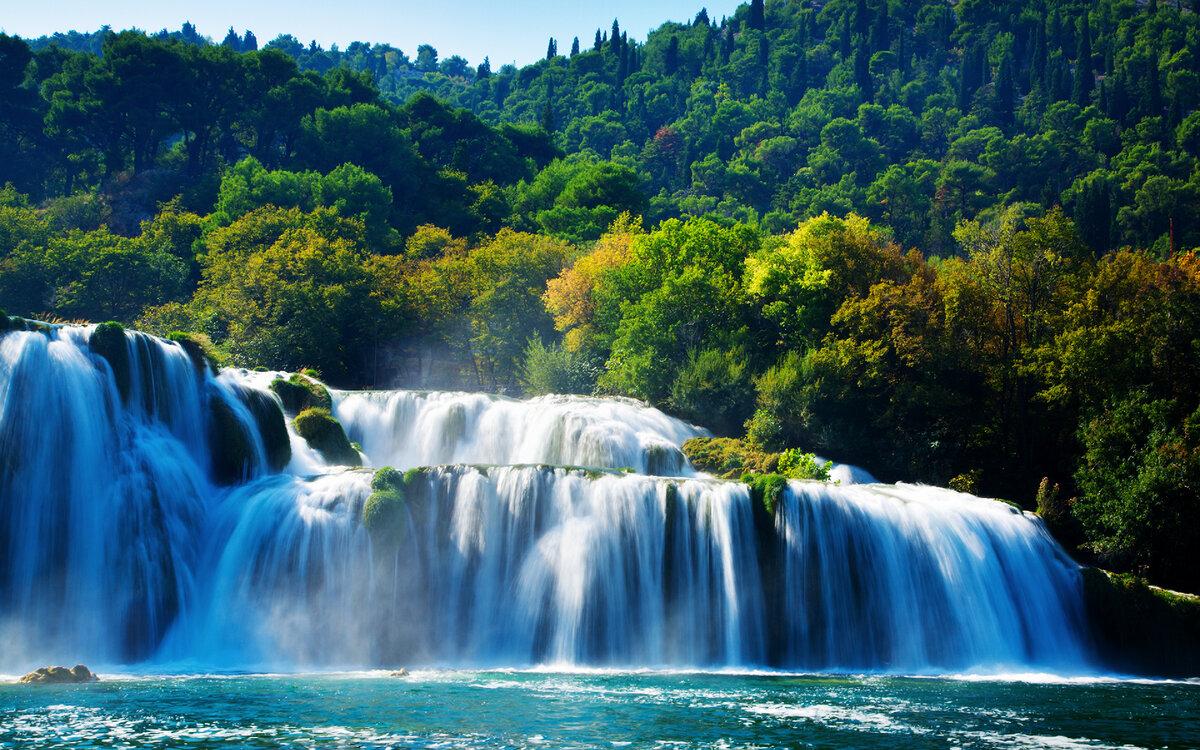 картинки очень красивые водопады мира