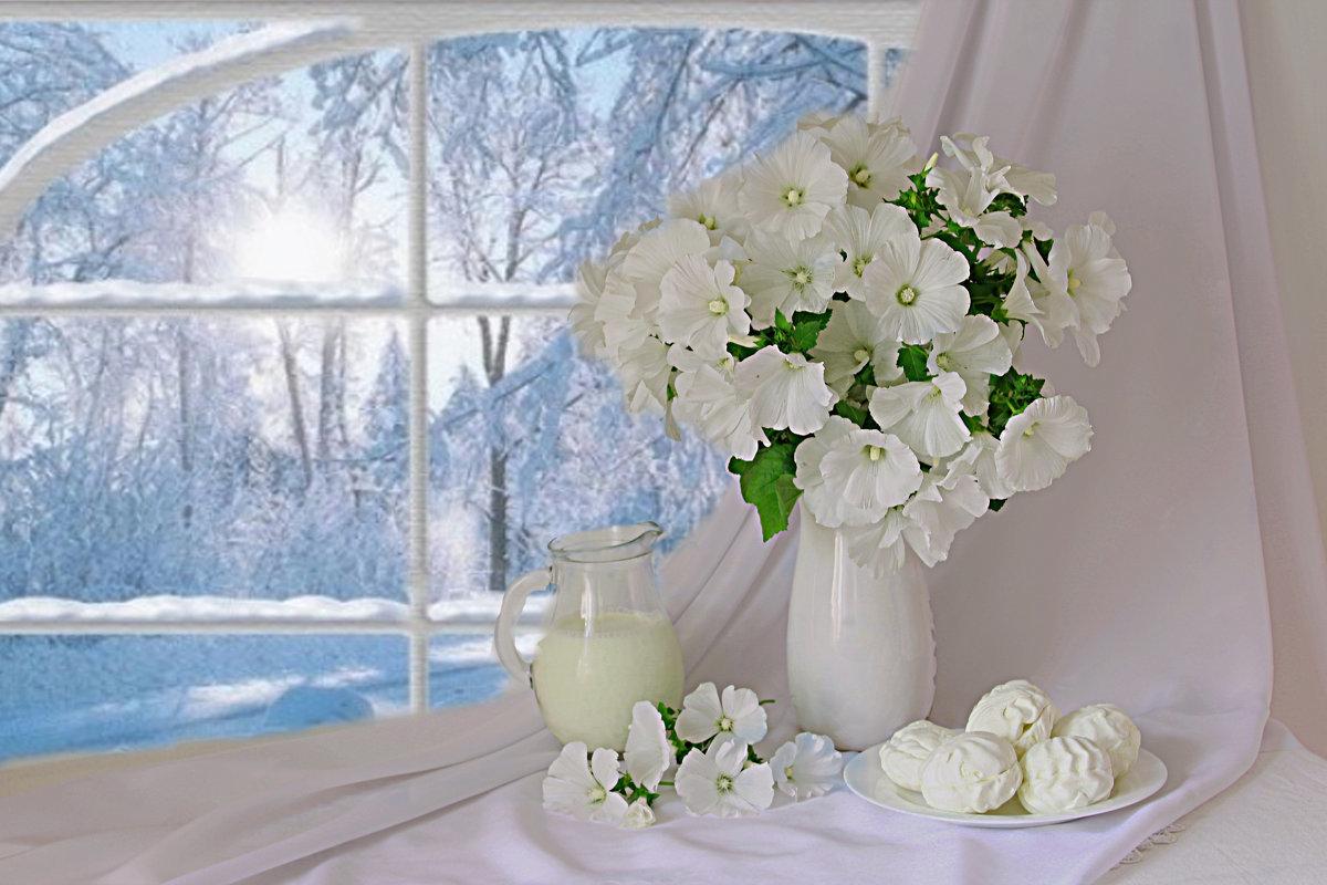добрый день картинки красивые от души зимние