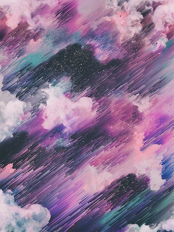 Красивые фиолетовые картинки тумблер