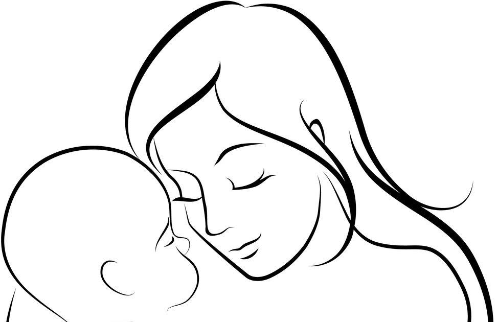 Картинки рисунок ко дню матери