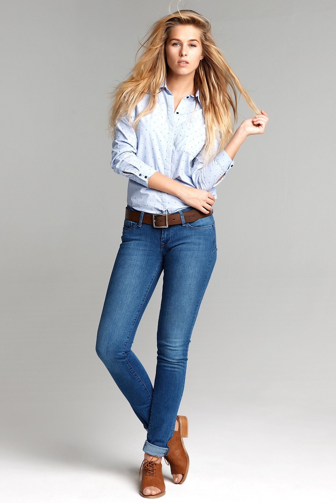 фото галереи женщин в джинсах и брюках - 14