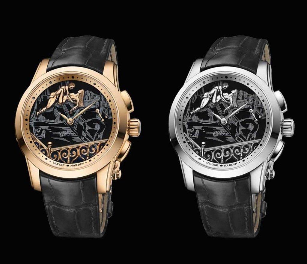 Производитель часов класса люкс славится необычными усложнениями и высокой точностью.