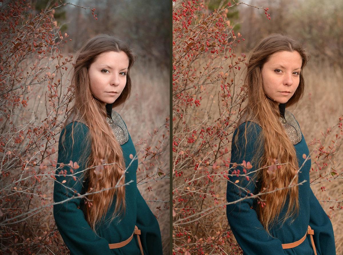 На каком фоне лучше фотографировать портрет