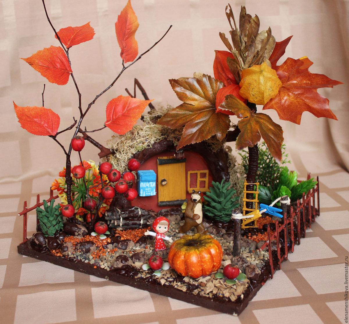 Божья, картинки поделки в садик осень