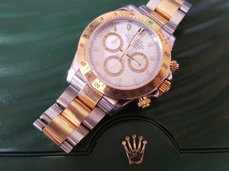 Rolex cosmograph daytona everose gold bracelet.