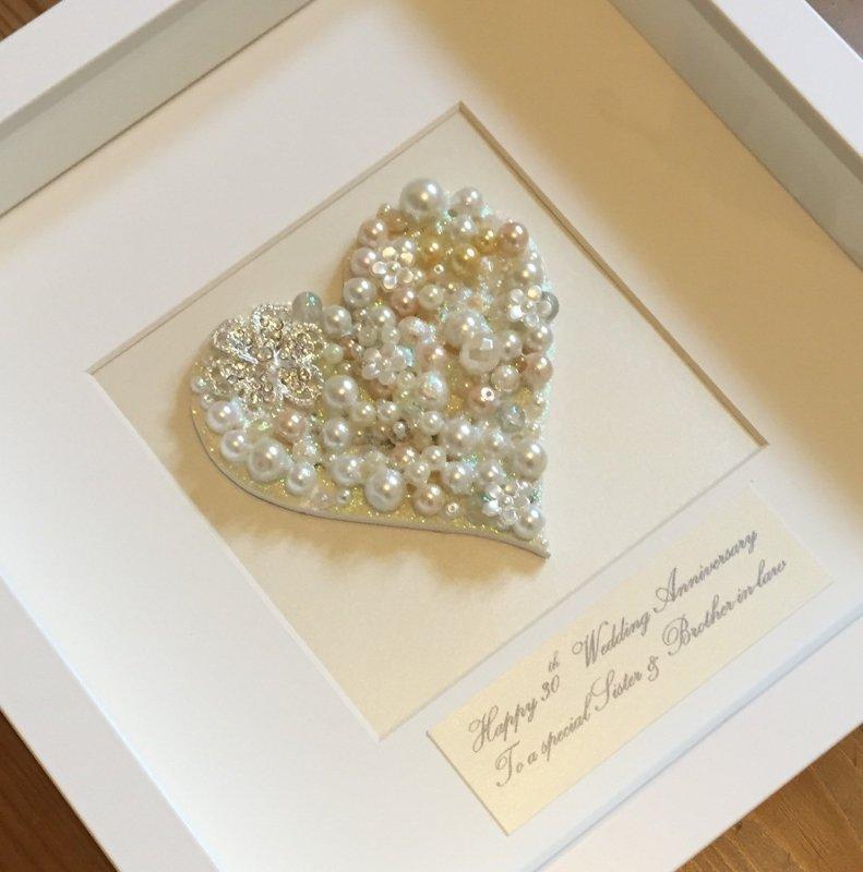 Открытки, открытки своими руками с жемчужной свадьбой