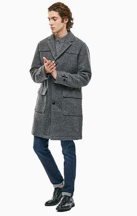 Пальто ARMANI JEANS происхождение бренда  Италия производство  Китай ... 66da16499d8