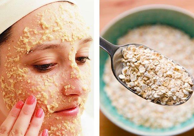 Противовоспалительная маска для лица с медом.