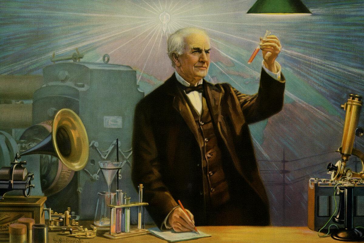 доступны томас эдисон изобретения фото кантри, прованс
