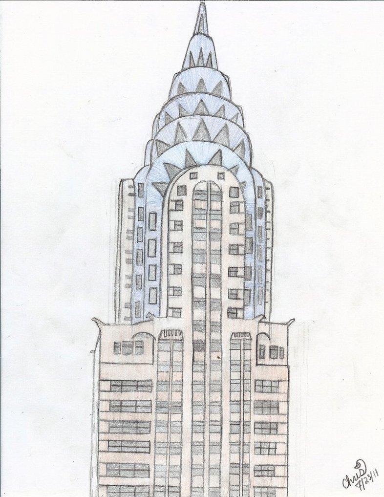 картинки карандашом многоэтажки