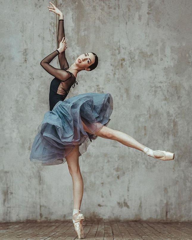 чтобы фотосессия в виде балерины конце