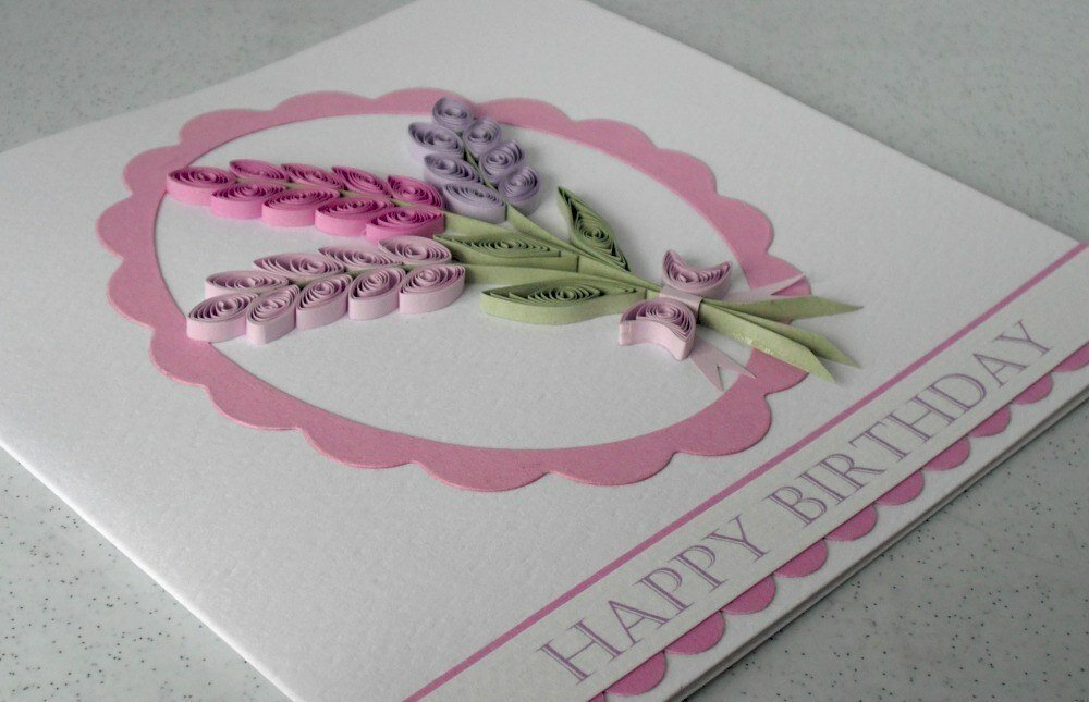 Дизайн открытки бабушке на день рождения