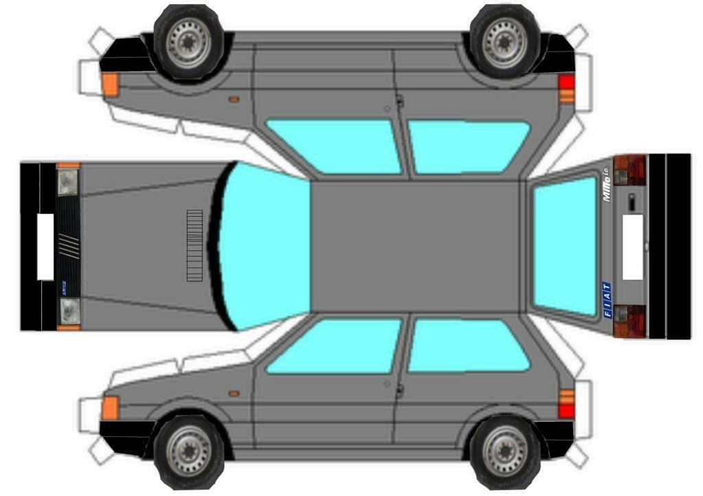 Картинки объемных машин