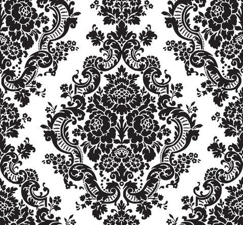 simple damask wallpaper patterns - HD1500×1385