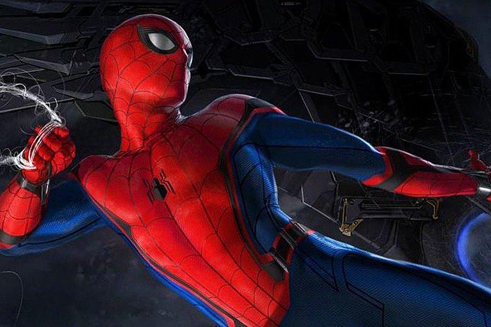 Картинка человека-паука возвращение домой