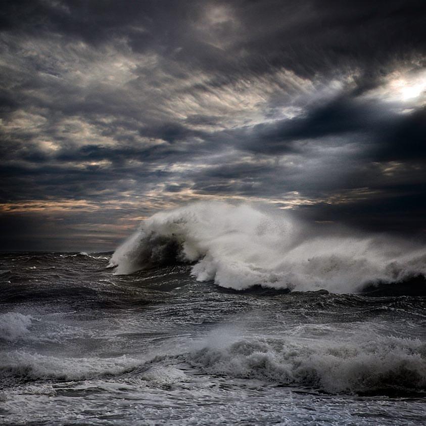 шторм в океане картинка на телефон правильно подобранных ваз