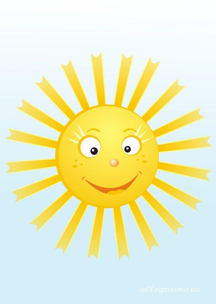 Картинка солнце с детьми