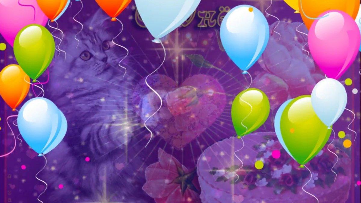 Поздравление с днем рождения пожелание видео открытка