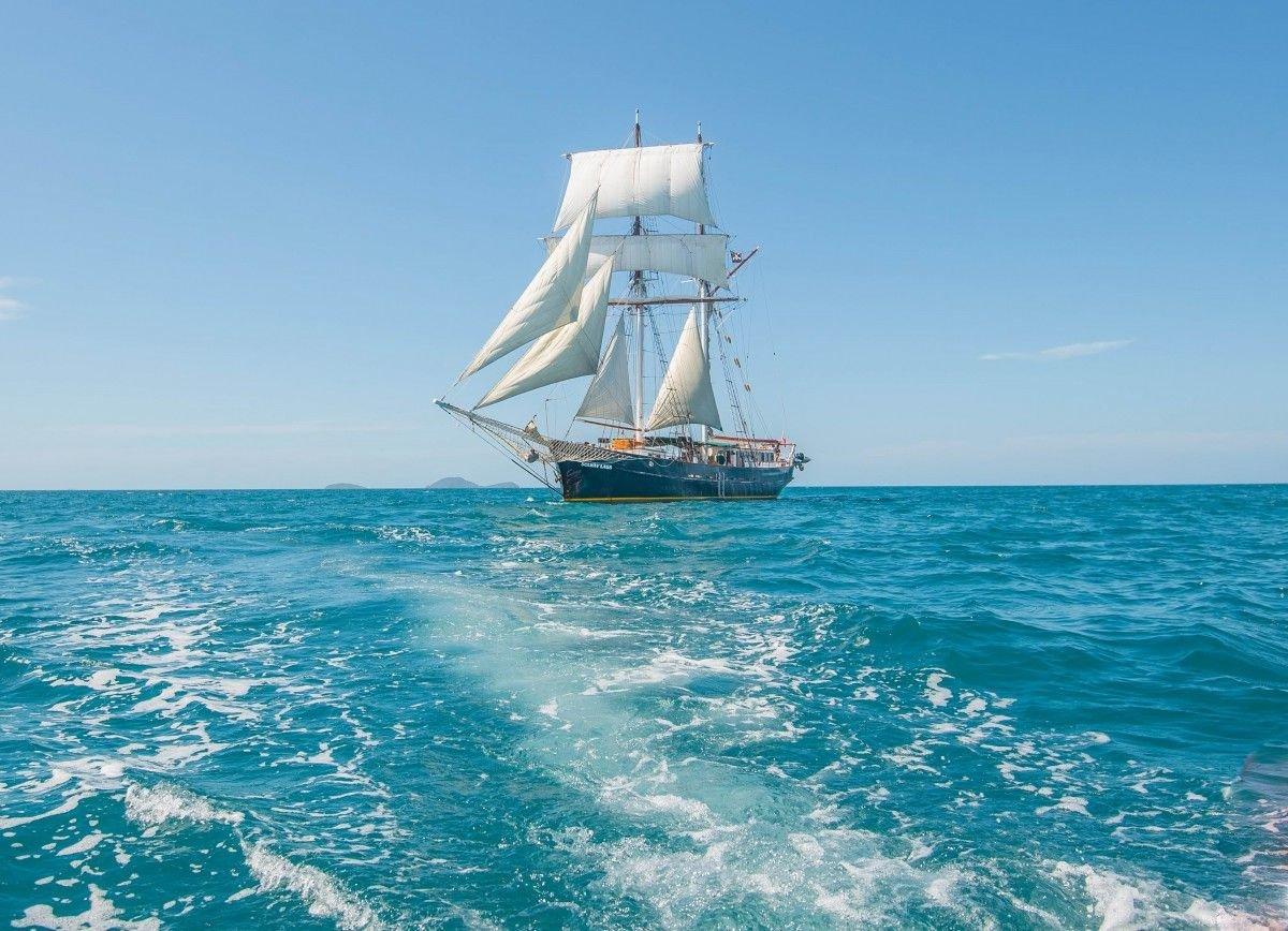 Открытки с морем и яхтами, онлайн