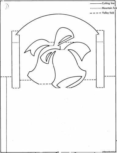 Открытки, новогодние 3 д открытки шаблоны