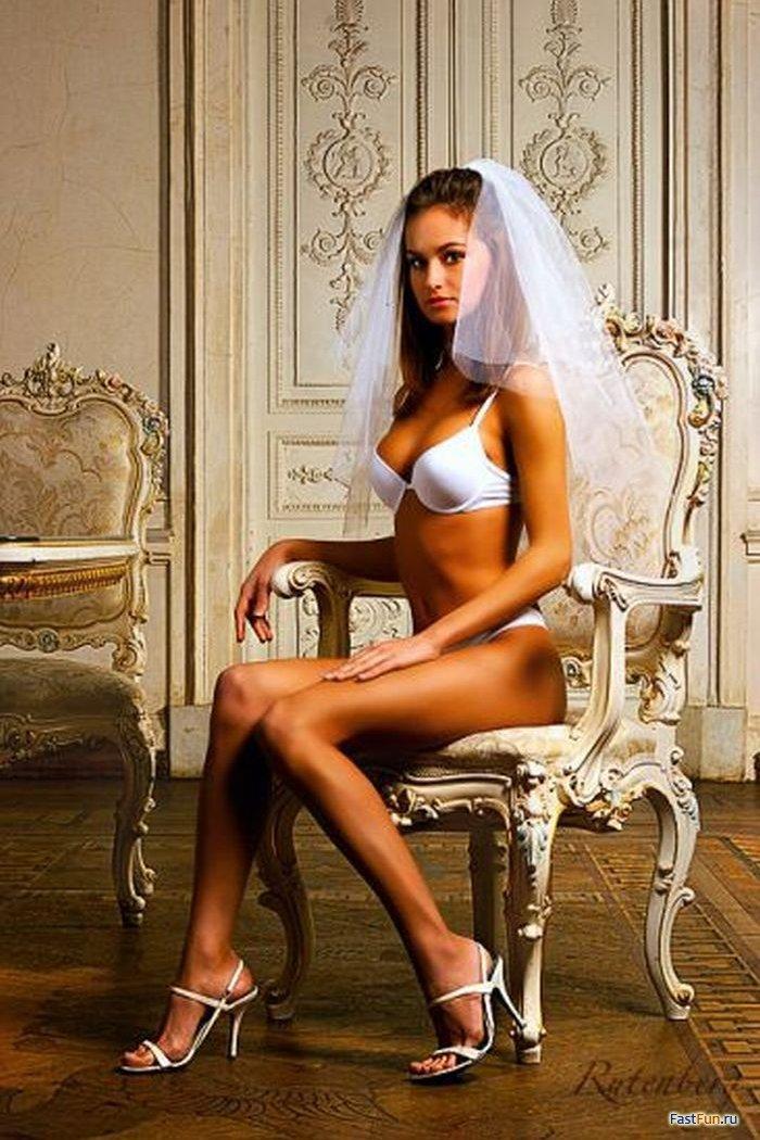 Большой член гламурные и развратные невесты дырочка молодой