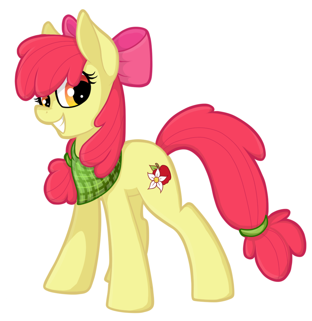 картинки мой маленький пони эпл блум для