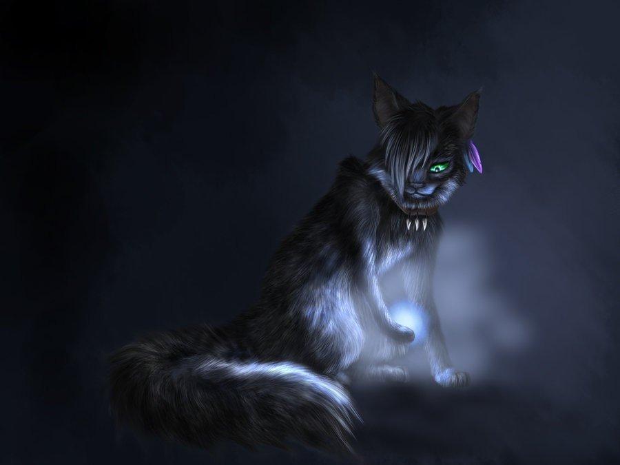 Страшные картинки коты воители