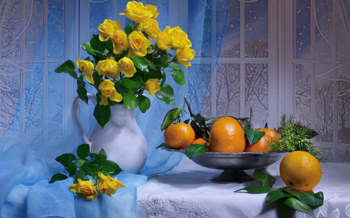 Фотонатюрморты цветы на окне