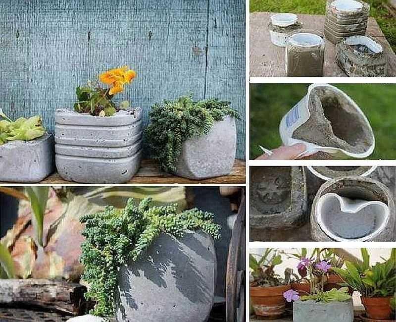 Кашпо для сада с пошаговым фото
