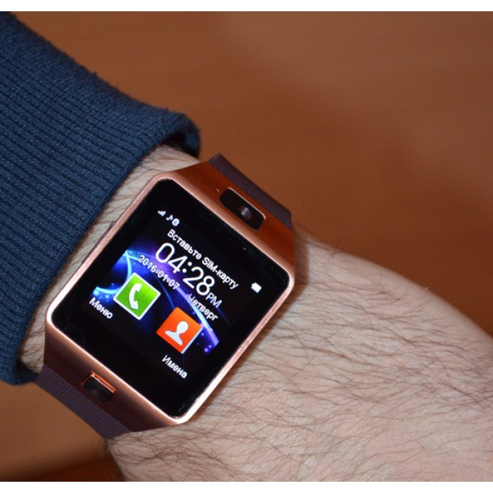 Давайте говорить серьезно, на android wear часов дороже долларов, емнип, еще нет.