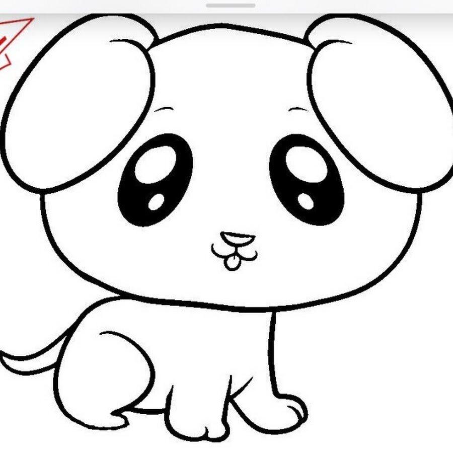Легкие рисунки для срисовки животных для детей