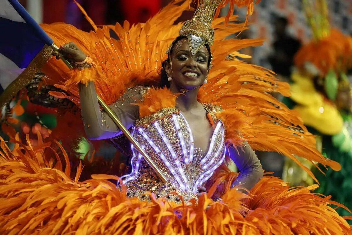Открытки, картинка с карнавалом