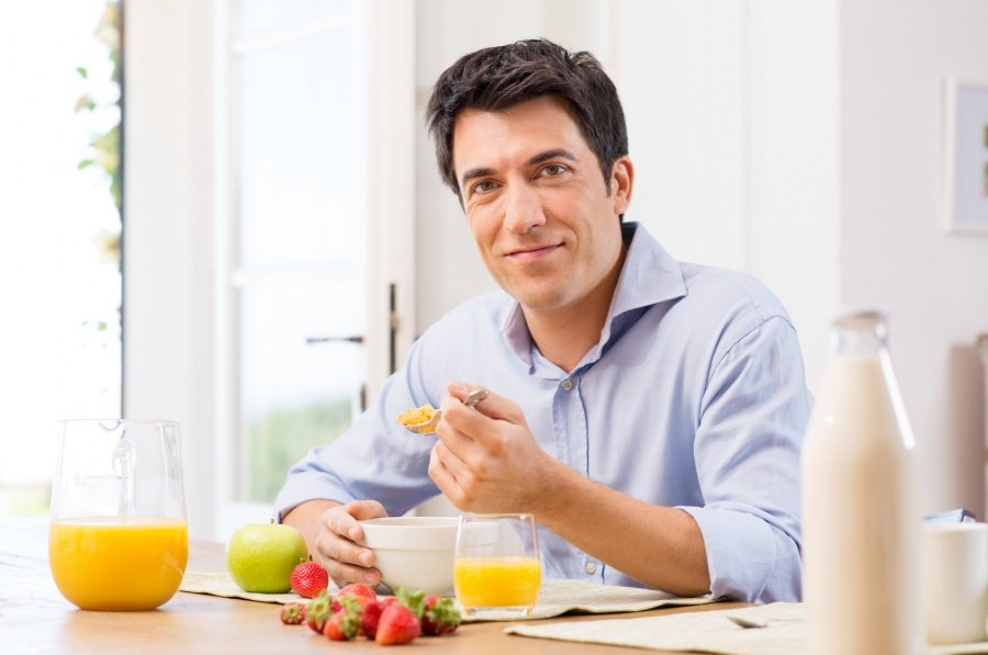 диета для молодых мужчин