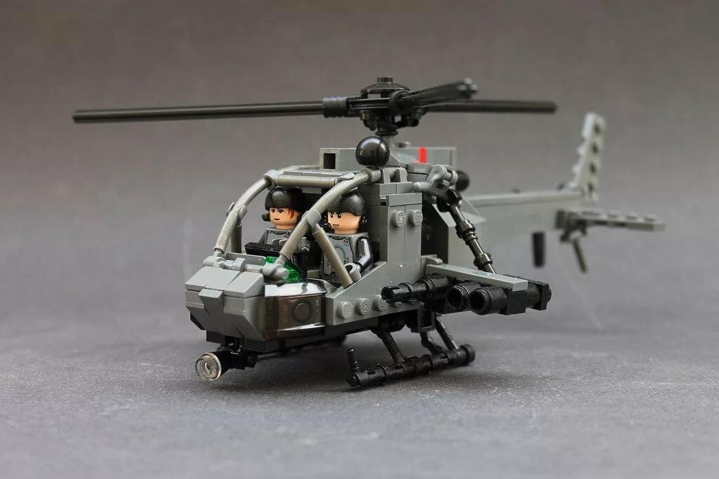 фото военных вертолетов из лего иллюстраций чуть