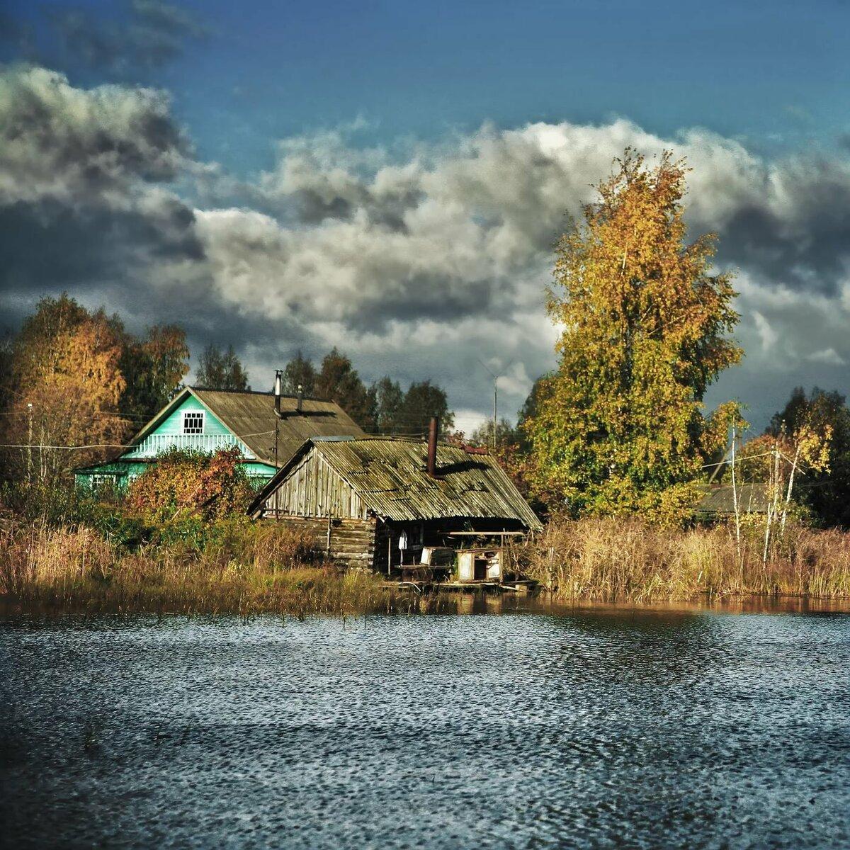 Картинка с деревнями