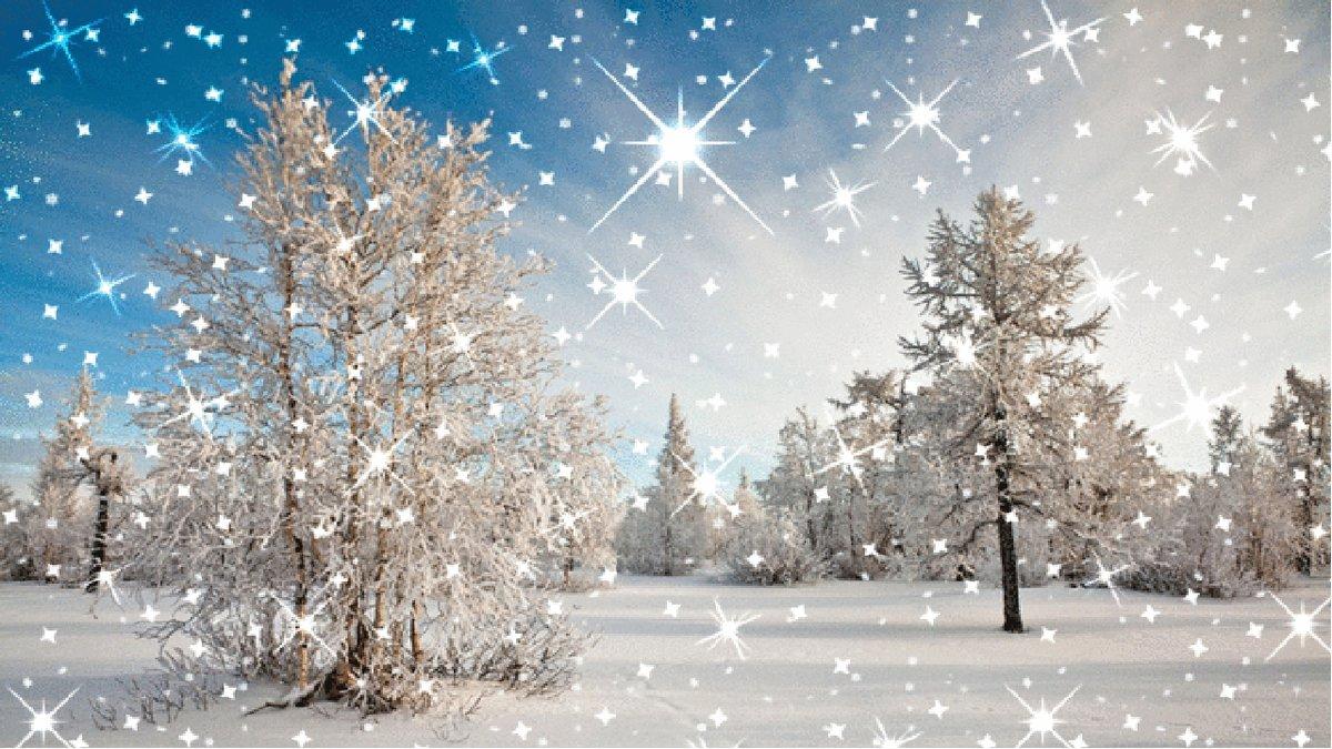Картинки с зимой гифки, гифки