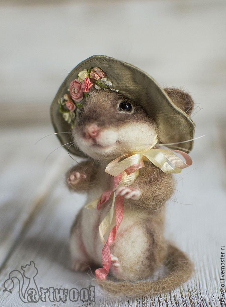 Мышки валяные картинки