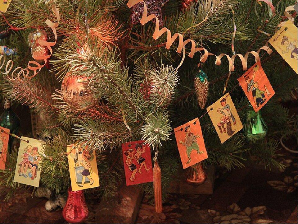 Открытка украшаю елку, картинки