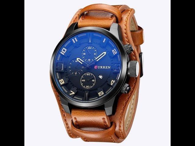 Curren — это растущий бренд среди недорогих и стильных наручных аксессуаров, который предлагает широкий выбор кварцевых хронографов для модных людей, не склонных тратить зарплаты на наручные часы.