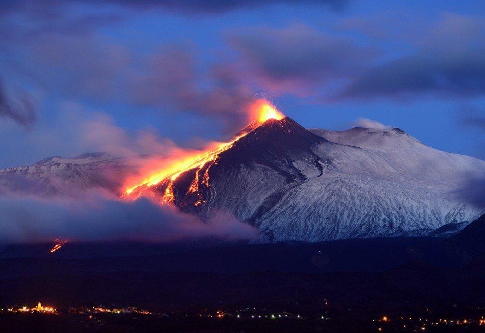 Италия вулкан фото