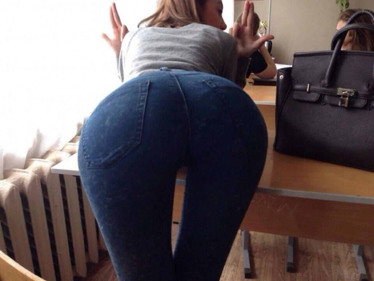 фото студентки в обтягивающих джинсах фото галереи взяты