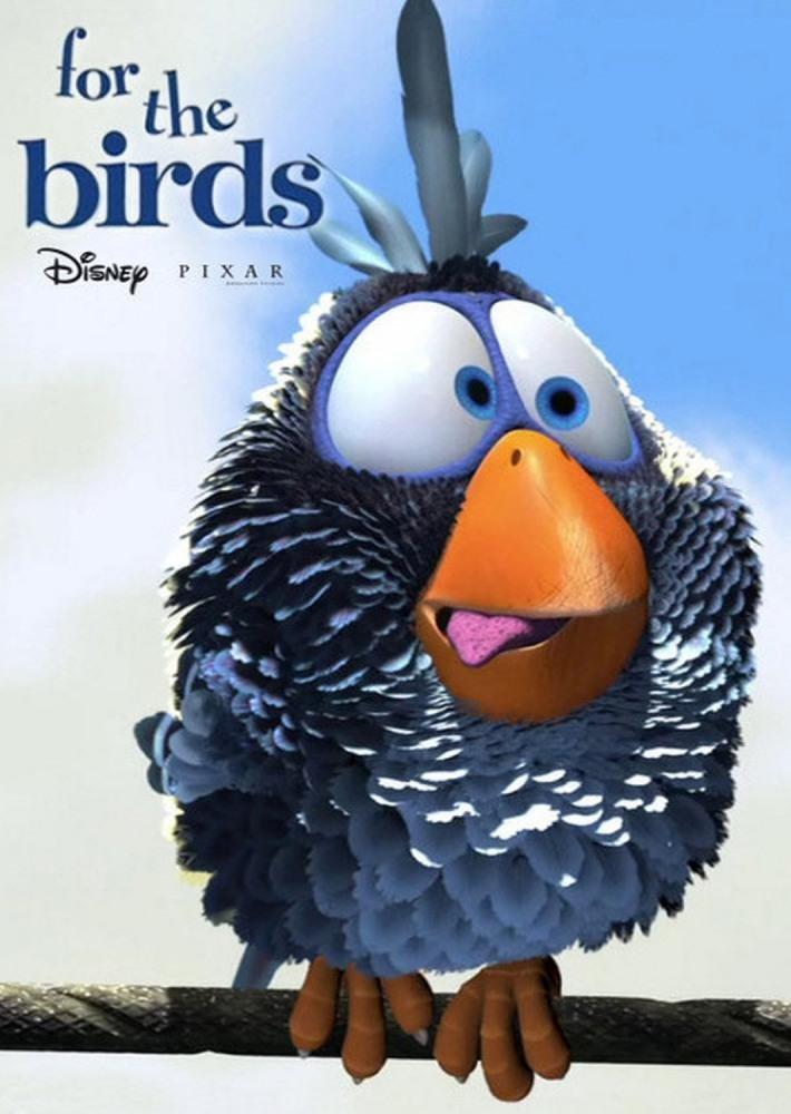Смешные картинки птиц из мультфильмов
