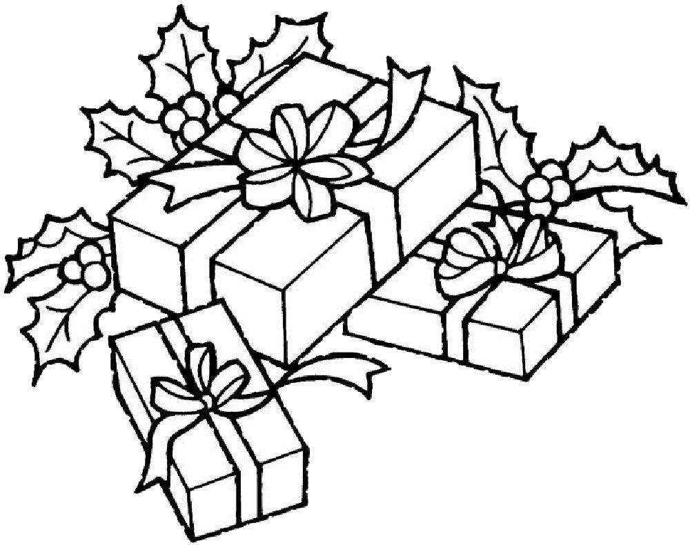 Подарки рисунок новый год, поздравлениями