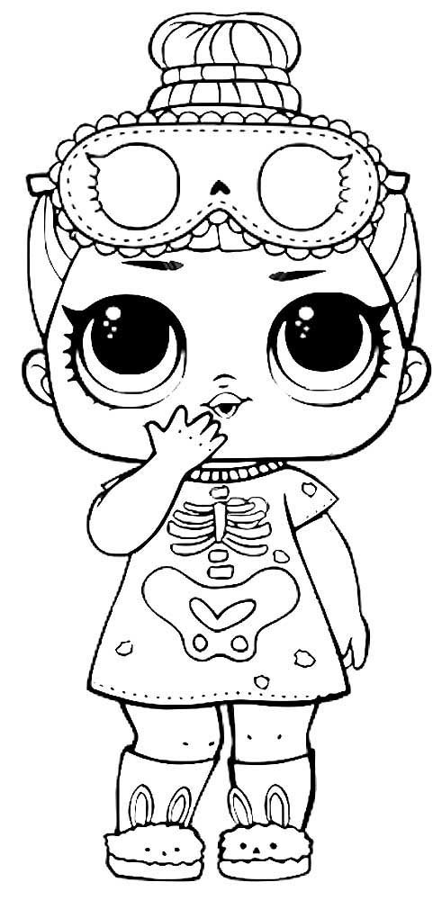 «Раскраски Куклы ЛОЛ Конфетти Поп (3 Серия)» — карточка ...
