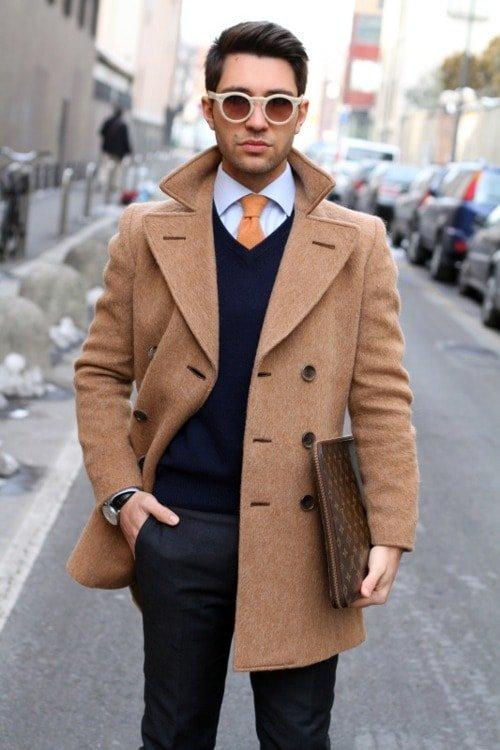 a2b82e092d9 Модные фасоны пальто для мужчин – классика вне времени» — карточка ...