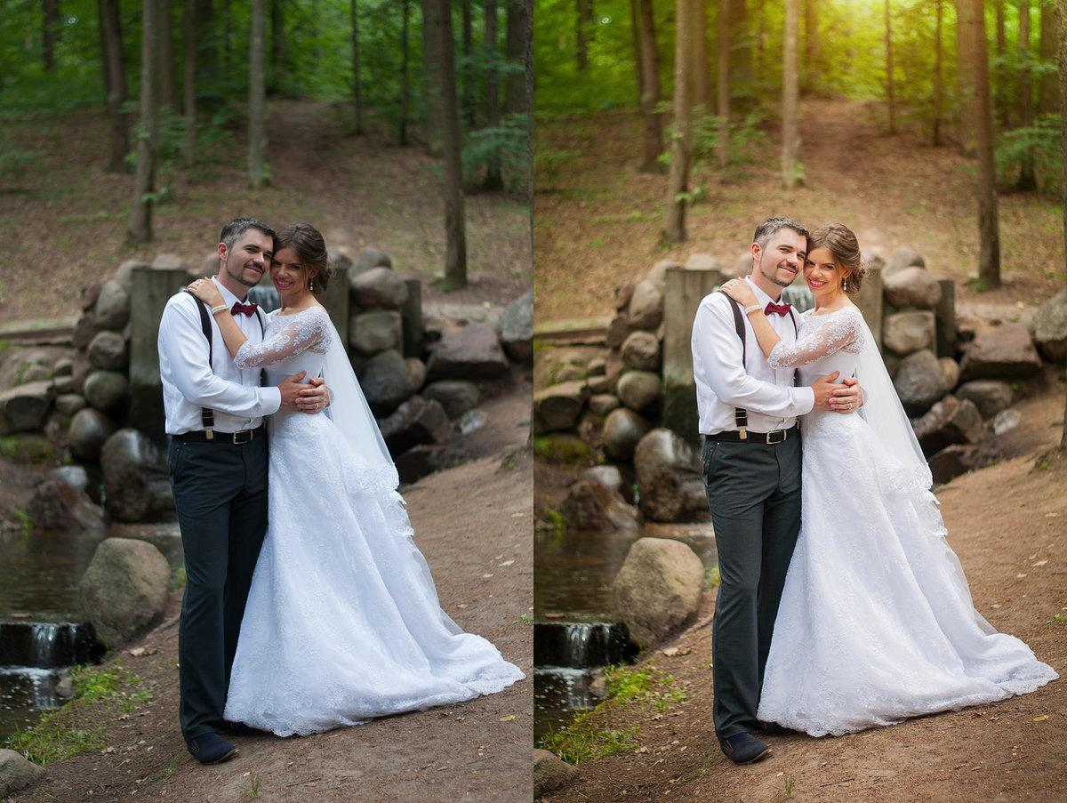 обработка свадебных фото для начинающих модель драгоценного металла